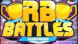 Ma prédiction pour le championnat rb batailles (événement ROBLOX)