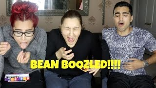 BEAN BOOZLED challenge ft. mom/brothers!