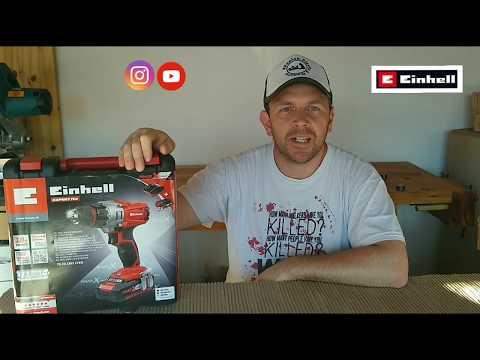 Taladro atornillador Einhell TE-CD 18/2 Li Kit