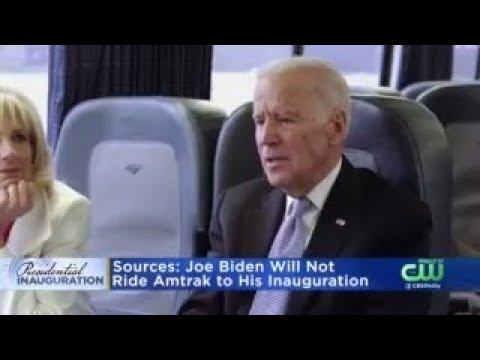 Joe Biden Will Not Take Amtrak Train To Inauguration, Sources Say