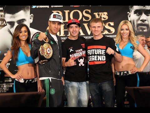 Press Conference: Brandon Rios vs Diego Chaves, Cosmopolitan Las Vegas