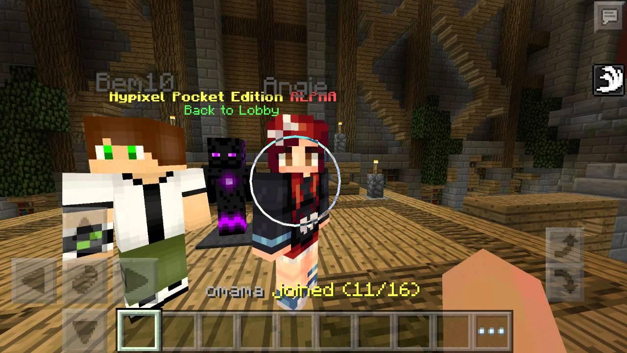 Minecraft pe 0.13.0 сервера голодные игры