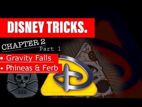 Disney Tricks: Part 1   Chapter 2 [ Gravity Falls / Disney / Illuminati Symbolism ]