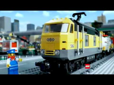 Lego City  Passenger Train  TV Toy Commercial  TV Spot  TV Ad  2010