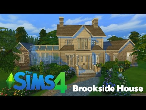The Sims 4: Speed Build | Brookside House