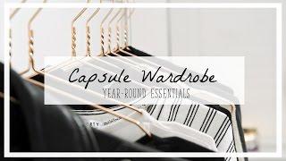 YEAR ROUND ESSENTIALS FOR A CAPSULE WARDROBE // CopperGardenx