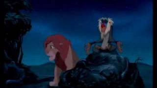 The Lion King - Simba & Rafiki (German)
