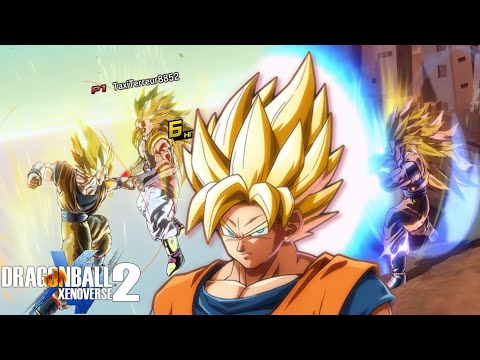 EASIEST CHARACTER EVER!? Playing Goku In Dragon Ball Xenoverse 2! |