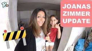 BAUSTELLEN UPDATE - JOANAS ZIMMER - Vlog#1113 Rosislife