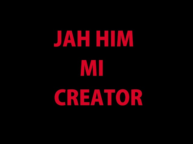 Jah Him I Maker by Shane O'Sullivan v2