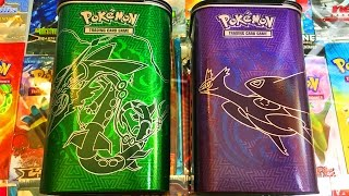 Ouverture de 2 BOX Pokémon Elite trainer Deck Shield ! MEGA RAYQUAZA VS MEGA LATIOS ! CARTE EX ?