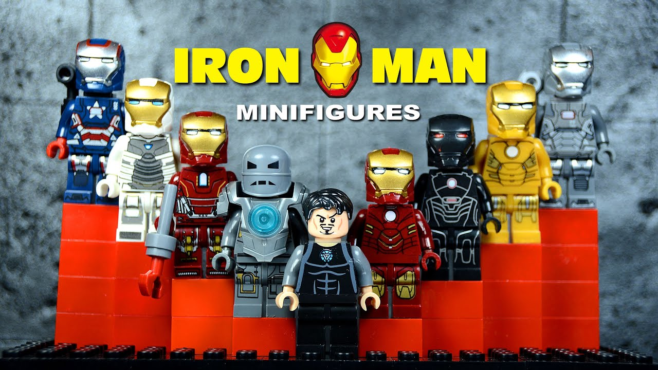 LEGO Iron Man Mark 1 Suit of Armor KnockOff Minifigures ...