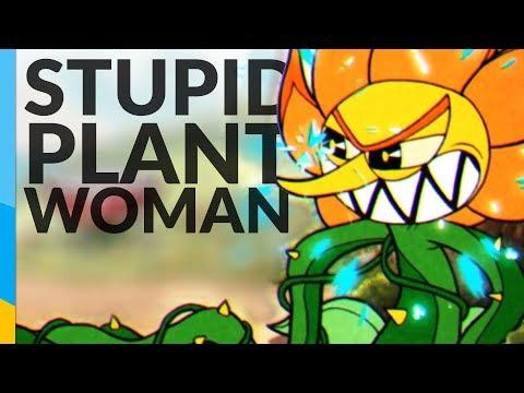 Stupid Plant Woman | Cuphead Ep.3