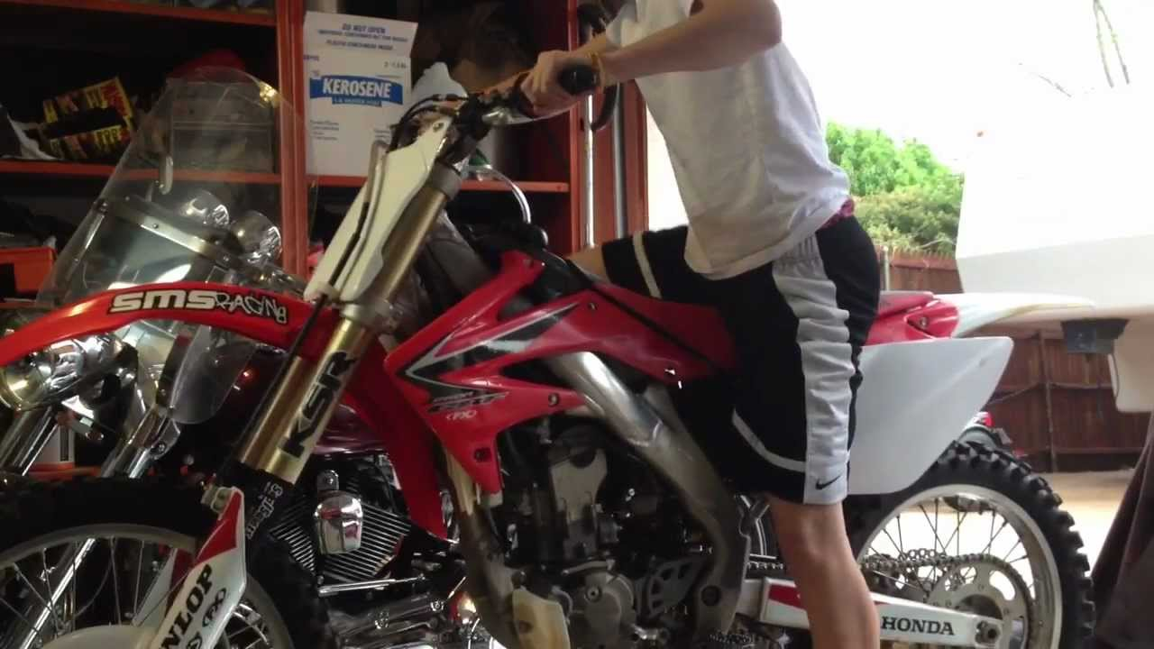 crf250r yoshimura dual exhaust youtube