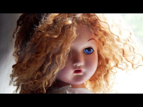 How to Restring a Composition Doll, Vintage Doll Makeover!