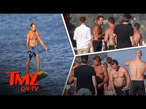 Josh Brolin Gets Corny With Laird Hamilton | TMZ TV