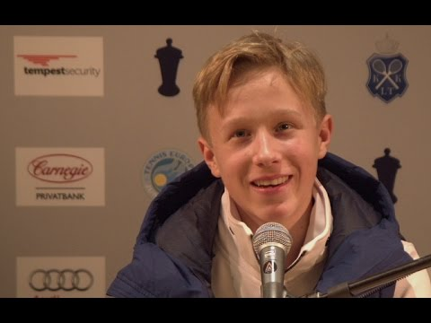 Interview with Leo Borg, quarterfinalist at Kungens Kanna 2017