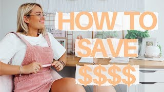 How I Saved $52,000 in 2 Years II Saving hacks you can start NOW! ft Shopback
