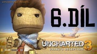 Český Let´s play | Uncharted 3 | 6. Díl (Pozor RPG!!!) | PS3