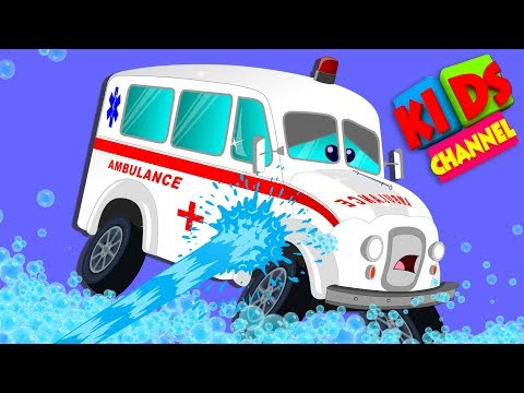 Car Wash | Car Videos For Toddlers | Kindergarten Songs For Babies by Kids Channel