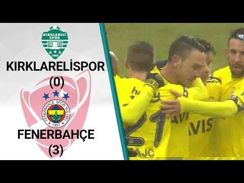 Kırklarelispor 0 - 3 Fenerbahçe MAÇ ÖZETİ (Ziraat Türkiye Kupası Çeyrek Final İl