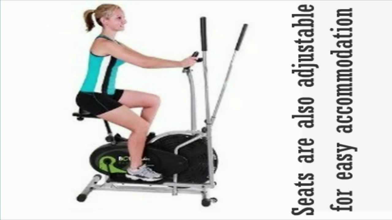 elliptical machine with seat
