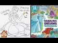 Beauty & the Beast - Belle and Mrs Potts - Disney Color Book Speed Coloring | The Playhouse