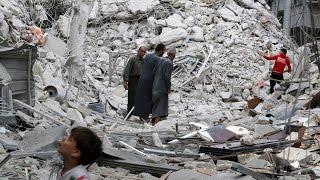عشرات الضحايا بقصف روسي على أحياء مدينة حلب الشرقية