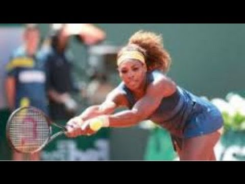 Serena Williams wins opening match at Sony Open ~ WTA  {FULL HD}  2014