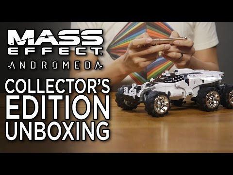 Mass Effect Andromeda Collector's Edition Unboxing