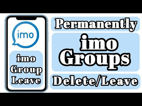 imo Groups Delete || Permanently imo Groups Leave/Delete/Remove  2020