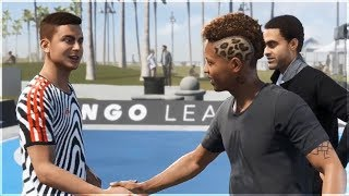 Alex Hunter meets Dybala and De Bruyne (FIFA 19 The Journey)