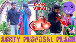 Aunty proposal in road side prank | mr.no1dubakur | sakthi2020