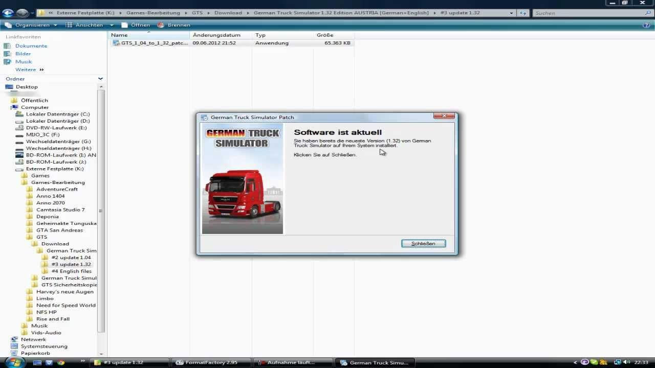 german truck simulator patch 1.32
