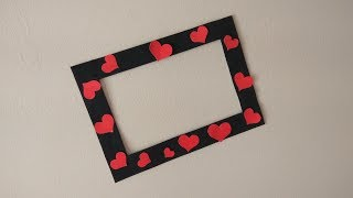 DIY | Quick and easy Photo Frame out of Paper| Best out of waste Video