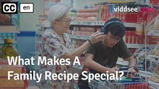 What Makes A Family Recipe Special? - Short Film Drama // Viddsee.com