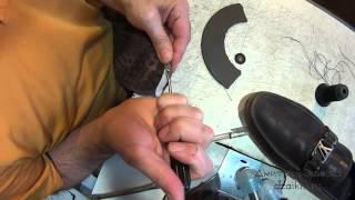 Необычные заплатки. Мокасины Louis Vuitton. Ремонт обуви.(, 2015-09-26T07:38:42.000Z)