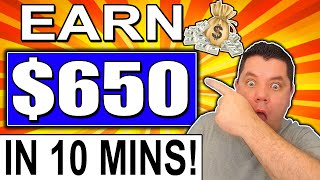MAKE $650 WORKING ONLY 10 MINUTES FROM HOME! MAKE MONEY ONLINE 2020