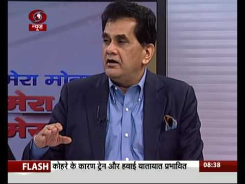 Post Demonetisation India to become Less Cash Economy-Amitabh Kant