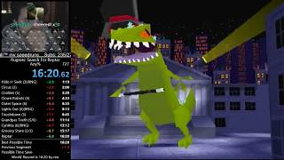 Rugrats: Search for Reptar Any% Speedrun World Record 16:20 RTA (8/19/17)