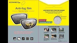 4Connect Rainproof  Anti Fog Film / Solusi Spion Buram Saat hujan dan Embun