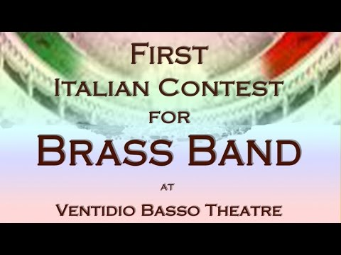 Various Artist - TEASER - First Italian Contest for Brass Band (live at Ventidio Basso Theatre)