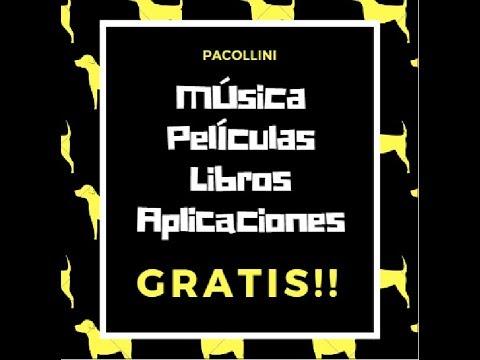 COMO CONSEGUIR GRATIS! - MÚSICA,PELICULAS,APLICACIONES Y LIBROS