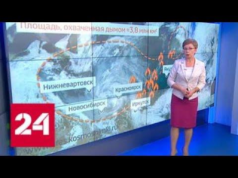 Алтайский край в дыму: режим черного неба введен в Барнауле и Бийске - Россия 24