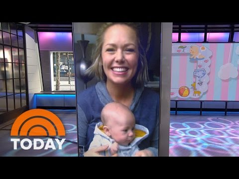 Dylan Dreyer Is 'So In Love' With Baby Calvin: 'Every Day Is Something New' | TODAY