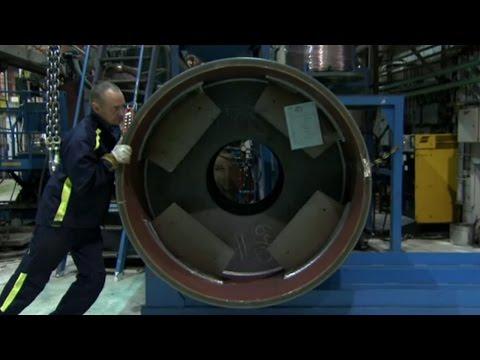 El Tambor De Un Compactador Vibratorio - Como Lo Hacen