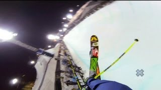 GoPro: David Wise Ski Pipe Victory Lap — Winter X Games 2013 Aspen