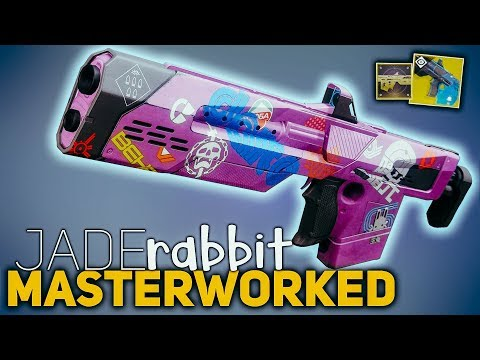 Jade Rabbit Masterworked (Exotic Catalyst) review | Destiny 2