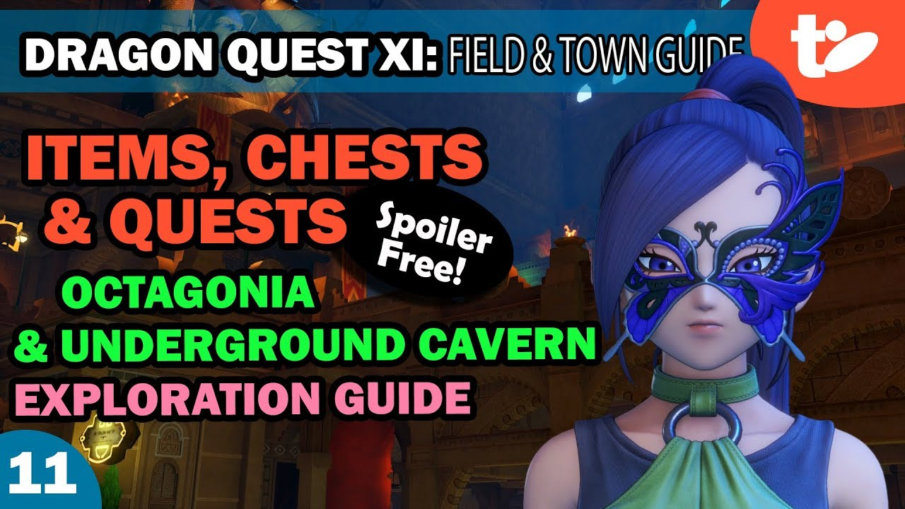 Dragon Quest XI Guide: Item & Chest Locations, Quest Step-By-Step