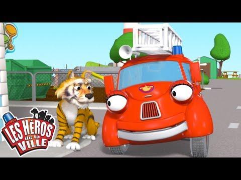 скачать Les Héros De La Ville Un Tigre En Vadrouille Dessin Animé Dessin Animé Pour Enfant смотреть онлайн видео